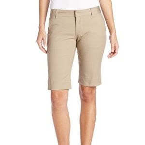 J.CREW khaki bermuda walking shorts size 0
